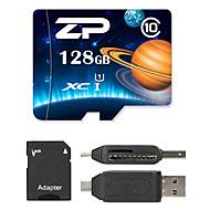 ZP 128GB マイクロSDカードTFカード メモリカード UHS-I U1 クラス10