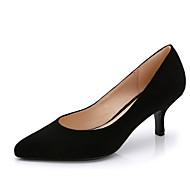 abordables Talons pour Femme-Femme Chaussures Laine synthétique Printemps / Eté Chaussures à Talons Talon Aiguille Bout pointu Rouge / Rose dragée clair / Bleu royal