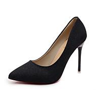Femme Chaussures à Talons Confort Paillette Printemps Automne Mariage Soirée & Evénement Habillé Marche Confort Talon en CristalTalon