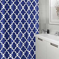 billige Badeværelsesprodukter-Neoklassisk Polyester 180 * 180  -  Høj kvalitet Brusegardiner