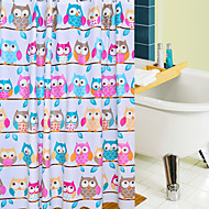 cheap Shower Curtains-Shower Curtains Neoclassical PEVA Animal Machine Made