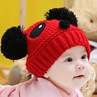 tanie Akcesoria dla dzieci-Kapelusze i czapki - Dla dziewczynek Dla chłopców - Zima - Dzianina White Czerwony Khaki