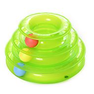 猫用おもちゃ ペット用おもちゃ ボール型 インタラクティブ タワー型ボール玩具