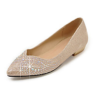 baratos Sapatos Femininos-Feminino Rasos Conforto Bailarina Materiais Customizados Primavera Verão Outono Inverno Casual Festas & Noite Social CaminhadaConforto
