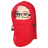 baratos Toucas & Máscaras-Máscaras de Esqui Moto Respirável Térmico/Quente A Prova de Vento Resistente Raios Ultravioleta Á Prova-de-Pó Unissexo Tosão