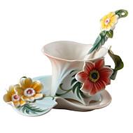ציוד שתיה חדשני כוסות תה כוסות יין בקבוקי מים כוסות קפה 1 PC קרמי, -  איכות גבוהה