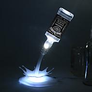 Χαμηλού Κόστους Μοντέρνα Απλή-1 τμχ 3D Nightlight Smart Αδιάβροχη anti slip Αλλάζει Χρώμα Καλλιτεχνικό LED Μοντέρνο/Σύγχρονο