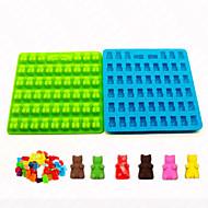 1 stück silikon gummi bär schokoladenform süßigkeiten maker eiswürfelschale gelee formen