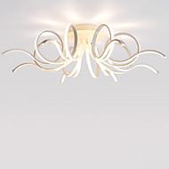 billige Takbelysning og vifter-LightMyself™ Takplafond Nedlys Sølv Aluminum Mini Stil, LED 110-120V / 220-240V Pære Inkludert / Integrert LED