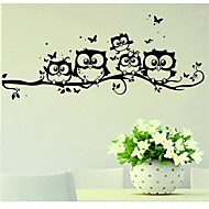 cheap Clearance-Animals Wall Stickers Plane Wall Stickers Decorative Wall Stickers, Vinyl Home Decoration Wall Decal Wall Glass/Bathroom