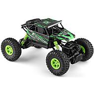 Fjernstyret bil WL Toys 18428-B 2.4G Off Road Car Højhastighed 4WD Driftbil Buggy 1:18 Børste Elektrisk 9 KM / H Fjernbetjening