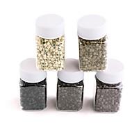 1000pcs 4,0 * 3mm silmukka mikro- nano renkaat / linkit / helmiä nano soi hiusten pidennykset