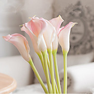 7 grene 3 klor stor størrelse pu calla lilje dekorere kunstige blomster