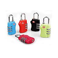 Χαμηλού Κόστους Ταξίδι και προστασία-κωδικοποιημένο κλειδαριά Αξεσουάρ αποσκευών για Γιούνισεξ κωδικοποιημένο κλειδαριά Αξεσουάρ αποσκευών Κράμα-Μαύρο Πορτοκαλί Τριανταφυλλί