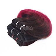 3 zestawy Włosy brazylijskie Body wave 8A Włosy naturalne Fale w naturalnym kolorze Ombre Ludzkie włosy wyplata Ludzkich włosów rozszerzeniach
