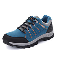 Hiking Shoes Men's Athletic Shoes Comfort Snow Boots Suede Casual  Flat Heel Gray Army Green Blue Under 1in