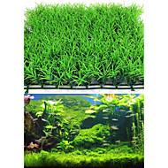 קישוט אקווריום צמח מים מלאכותי פלסטיק