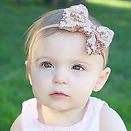 tanie Akcesoria dla dzieci-Akcesoria do włosów - Dla dziewczynek Dla chłopców Bawełna Satyna - Opaski na głowę - Black Silver Czerwony Blushing Pink Purple