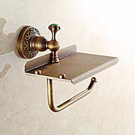 Toilet Paper Holder / Antique Brass Brass /Contemporary
