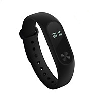 billige -xiaomi mi band 2 aktivitet tracker smart armbånd ios android touch screen hjertefrekvens monitor lang standby vandtæt