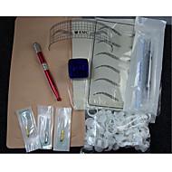 Manual Trusa de machiaj Sprâncene Buze Creion de Ochi Mașini de tatuat 12 Plat 14 Plat