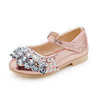 Sandaler-PUPige-Guld Sølv Lys pink-Bryllup Formelt Fest/aften-Flad hæl