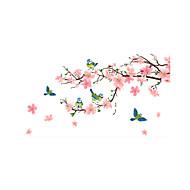 billiga Väggklistermärken-Djur Mode Blommig Väggklistermärken Väggstickers Flygplan Dekrativa Väggstickers, Vinyl Hem-dekoration vägg~~POS=TRUNC Vägg Glas / badrum