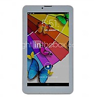 7 inch phablet (Android 4.4 1024 x 600 Dual Core 512MB+8GB) / 32 / TFT / Mini USB / SIM-kort slot / TF Kort Slot