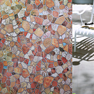 baratos Películas e Adesivos de Janela-Art Deco Moderna Adesivo de Janela, PVC/Vinil Material Decoração de janela Sala de Jantar Quarto Escritório Quarto das Crianças Sala de