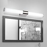 tanie Oświetlenie lustra-Prosty LED Modern / Contemporary Oświetlenie łazienkowe Na Metal Światło ścienne IP20 85-265V 16W