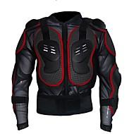ieftine Echipament de protecție-Manșon Lung Jachetă Cycling - Negru / Negru / Roșu Bicicletă Design Anatomic