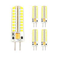 billige Bi-pin lamper med LED-3w gy6.35 ledet bipelys t 72 smd 2835 300-330 lm varm hvit kul hvit dekorativ AC / dc 12 v 5 stk