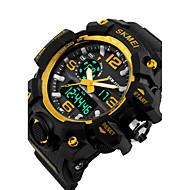 billige Kjoleur-Herre Quartz Digital Digital Watch Armbåndsur Skeletur Kjoleur Sportsur Afslappet Ur Silikone Bånd Vedhæng Afslappet Mode Mangefarvet