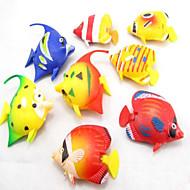 קישוט אקווריום דגים מלאכותיים אינו רעיל וחסר טעם