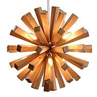 cheap Pendant Lights-Country LED Pendant Light Downlight For Living Room Bedroom Dining Room Study Room/Office Warm White 110-120V 220-240V Bulb Included
