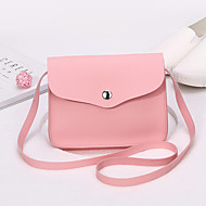 Women Bags All Seasons PU Shoulder Bag for Event/Party Casual Formal Office & Career Red Blushing Pink Apricot Gray Wine