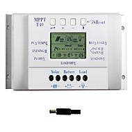 40a lcd solar şarj kontrolörü 12v 24v otomatik çift zamanlayıcı y-güneş T40 anahtarı