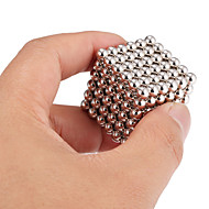 cheap -Magnet Toy Building Blocks / Neodymium Magnet / Magnetic Balls 216pcs 5mm Magnet Magnetic Adults' Gift
