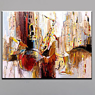 Hånd-malede Abstrakt Landskab Horisontal,Moderne Europæisk Stil Et Panel Hang-Painted Oliemaleri For Hjem Dekoration