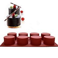 Bakeform For Kake For Cupcales Annen Silikon Bryllup Bursdag Ferie Påske Nyttår Valentinsdag Høsttakkefest Høy kvalitet Jul Halloween