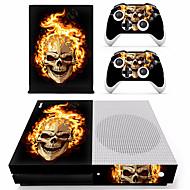 B-SKIN XBOX ONE  S PS / 2 Çıkarmalar Uyumluluk Xbox One S ,  Yenilikçi Çıkarmalar PVC 1 pcs birim