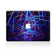 For MacBook Air 11 13/Pro13 15/Pro with Retina13 15/MacBook12 Colored Lines Decorative Skin Sticker