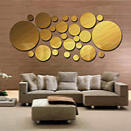 1 PC Mirrors Shapes Abstract Wall Stickers Crystal Wall Stickers Mirror  Wall Stickers Decorative Wall StickersVinyl