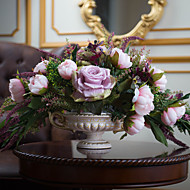 1 Gren Bordblomst Kunstige blomster