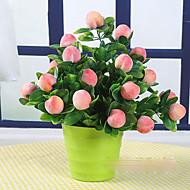 1 Gren Ekte Touch Bordblomst Kunstige blomster