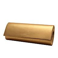 女性 バッグ オールシーズン サテン グリッター素材 イブニングバッグ メタル のために 結婚式 イベント/パーティー フォーマル ゴールド シルバー アーモンド コーヒー