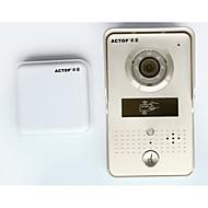 actop wifi video de ușă telefon ușă camera wireless usa interfone cu cititor de carduri rfid pentru securitate de acces a ușii