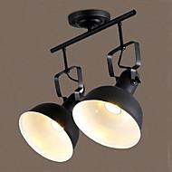 billige Spotlys-2-Light Spotlys Omgivelseslys Malte Finishes Metall Mini Stil 110-120V / 220-240V Pære ikke Inkludert / E26 / E27