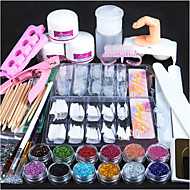 1set Nail Art Kit Multi-funktion Negle kunst Manicure Pedicure Chic & Moderne / Trendy / Fransk Tips Guide