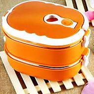 preiswerte Brotdosen-Edelstahl Gute Qualität Brotdosen Quadratisch Küchenorganisation